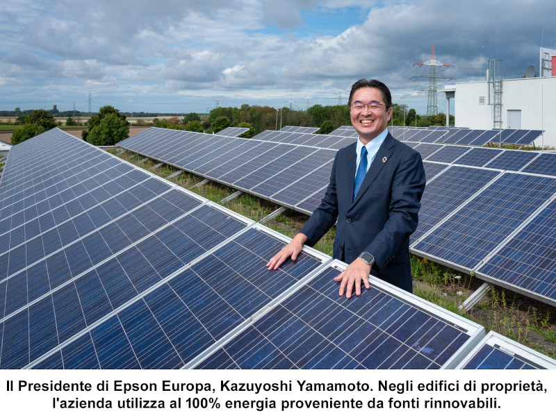 Epson pubblica il Bilancio di Sostenibilità europeo