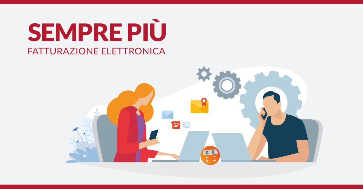 La Fatturazione Elettronica di Aruba scelta da 550.000 aziende e 10.000 commercialisti