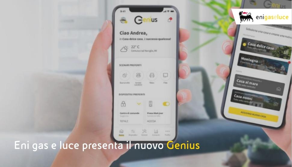 Genius, la piattaforma Eni gas e luce per lo smart living basata sul cloud Microsoft Azure