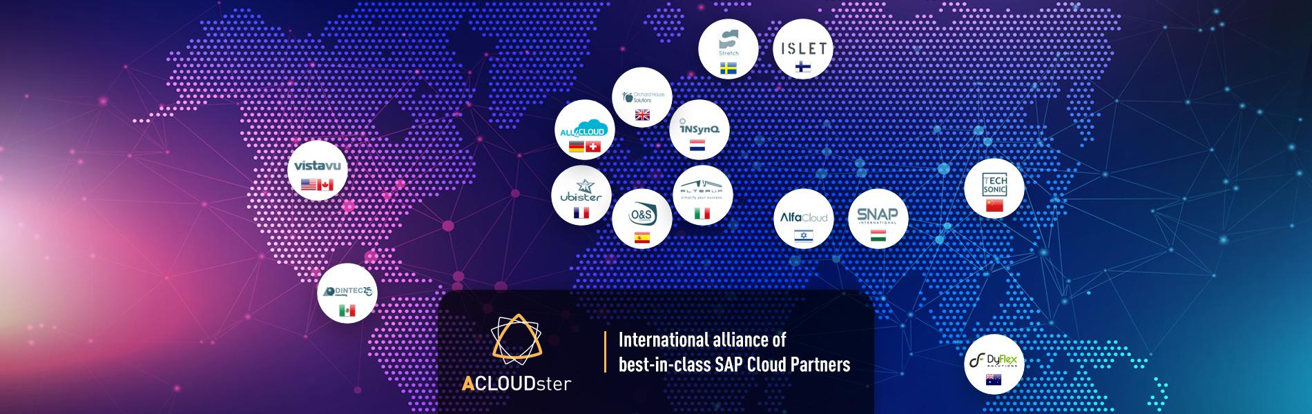 ACLOUDster, Altea UP si allea con importanti GOLD Partner SAP