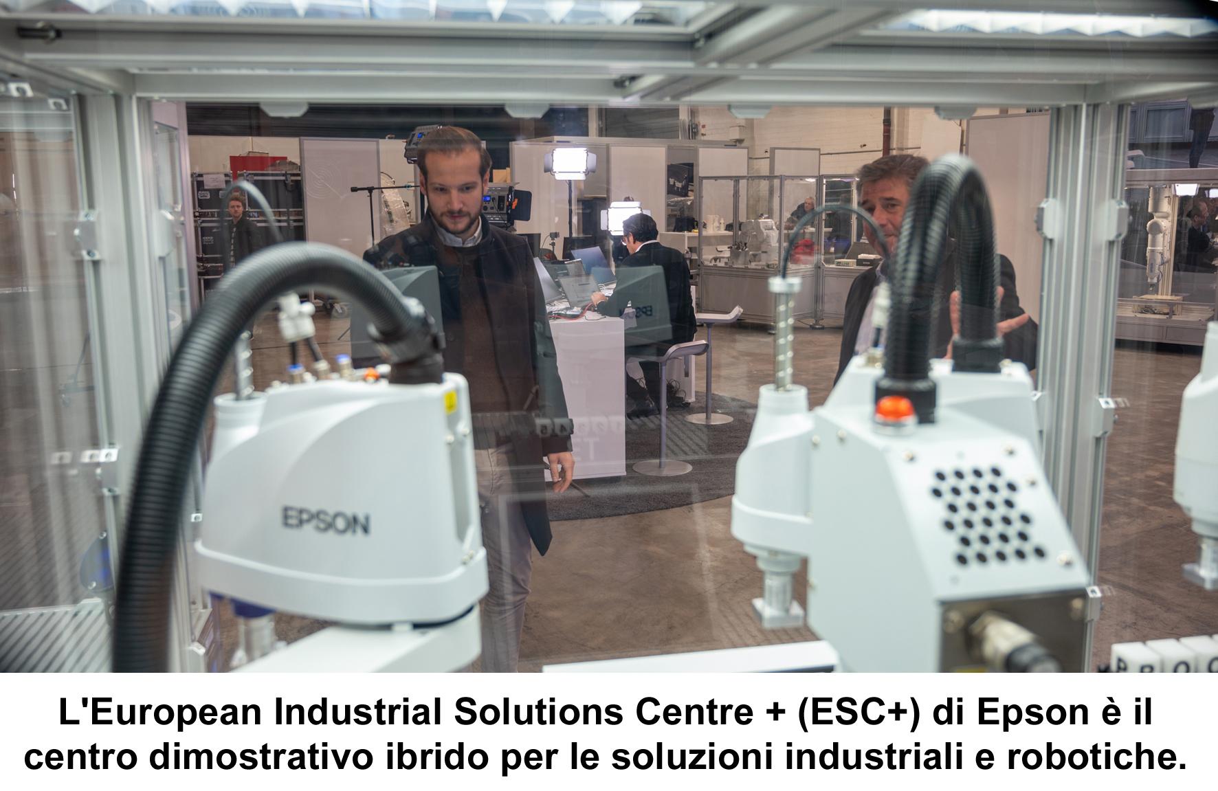 Epson apre un nuovo Industrial Solutions Centre virtuale