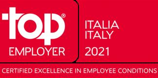 Canon Italia ottiene la certificazione Top Employers 2021