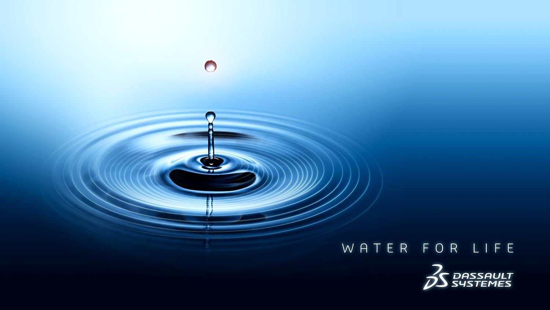 """Dassault Systèmes annuncia """"Water for Life"""" per un'industria più sostenibile"""
