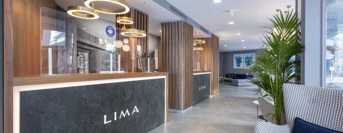 Con Snom l'Hotel Lima si dota di un'infrastruttura telefonica all'avanguardia