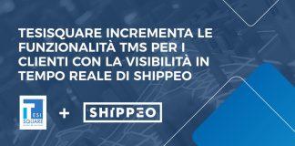 TESISQUARE annuncia la partnership strategica con Shippeo