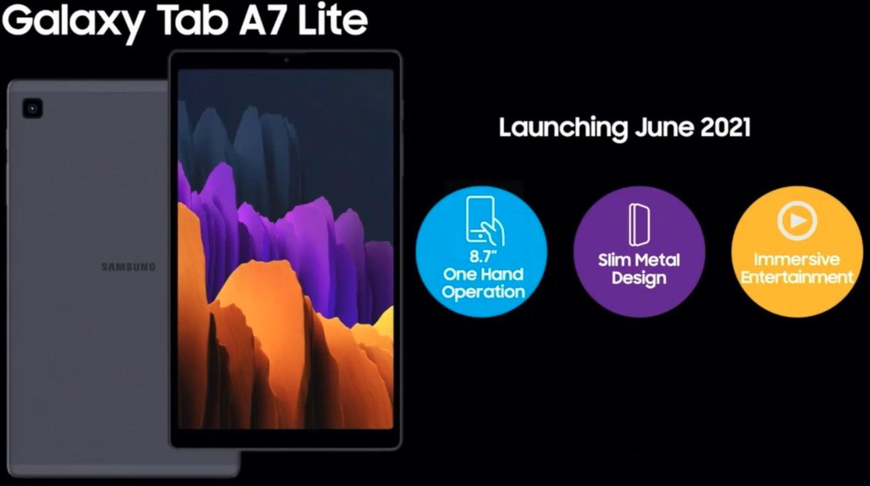 Galaxy Tab S7 Lite e A7 Lite pronti per giugno