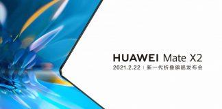 Huawei conferma il Mate X2