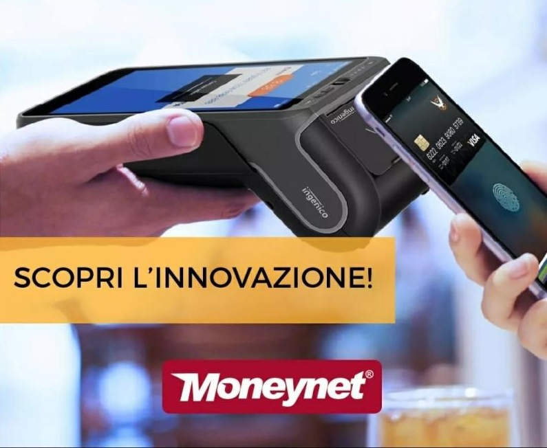 Moneynet sceglie gli smartPOS Ingenico