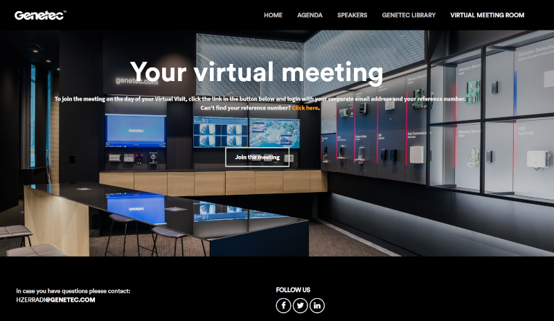 Genetec lancia l'innovativo Virtual Experience Center