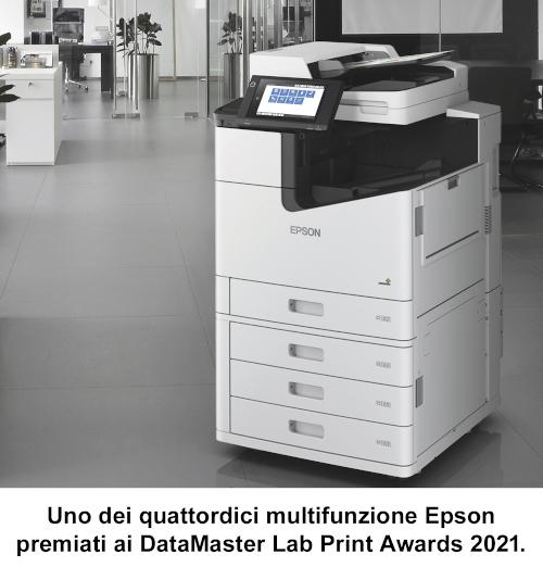 Epson premiata ai DataMaster Lab Print Awards 2021