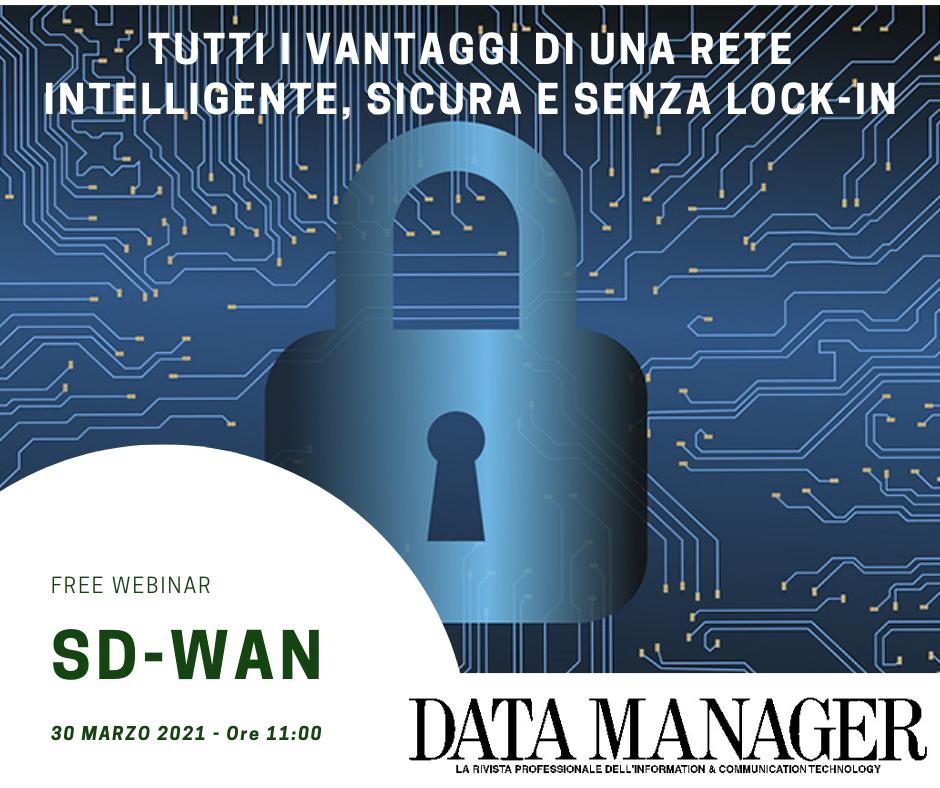 sd-wan webinar gratuito di Data Manager Magazine