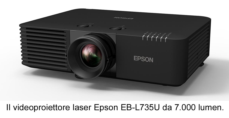 Nuovi videoproiettori laser Epson per formazione, retail, hospitality e intrattenimento
