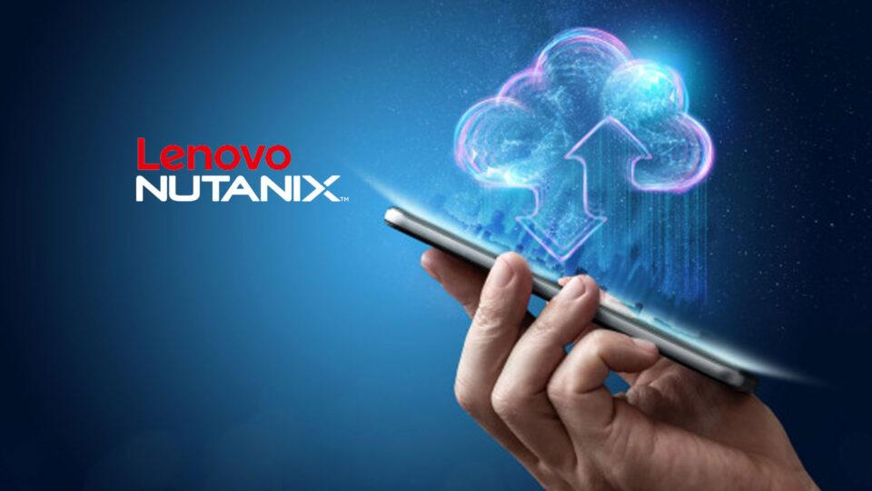 Lenovo e Nutanix presentano una soluzione As-a-Service per i desktop in hosting