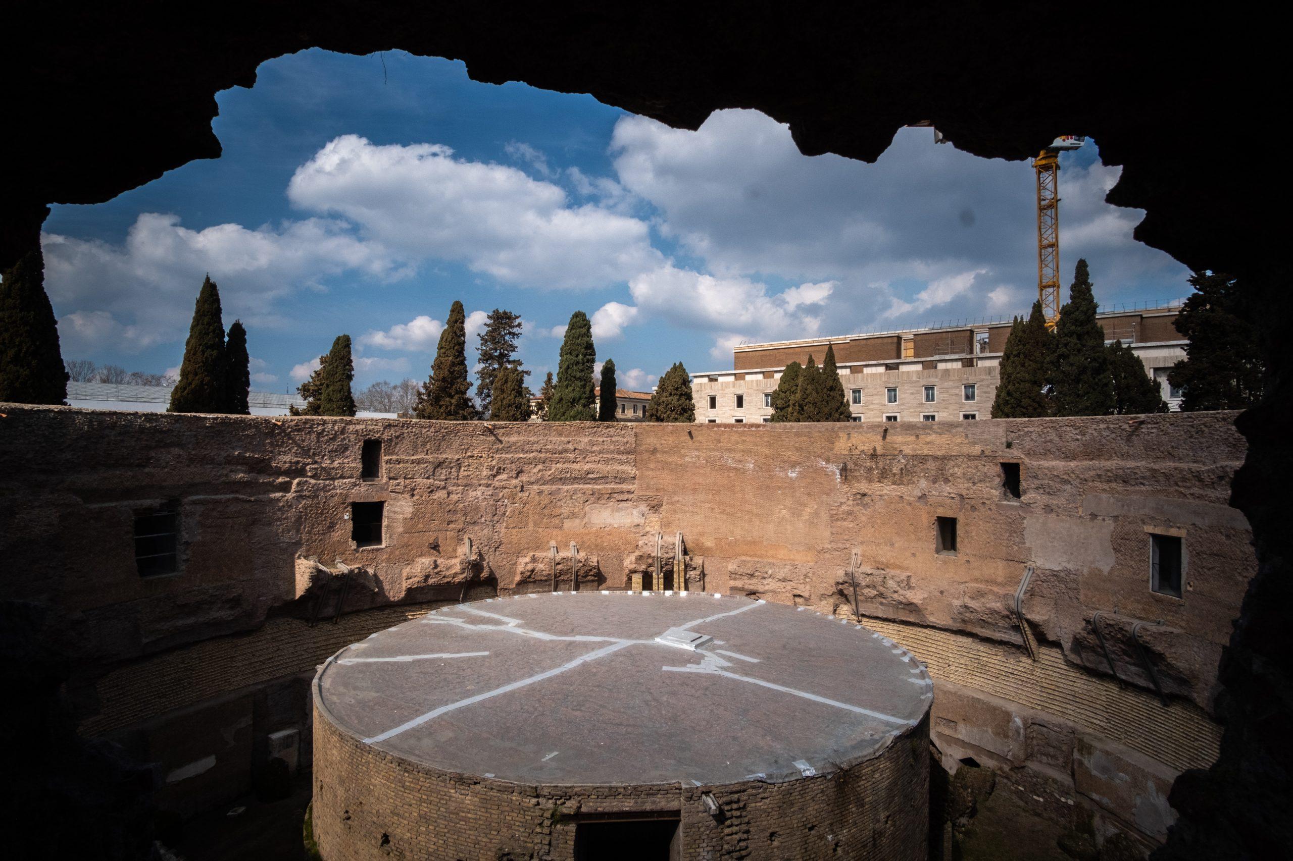 TIM, la realtà virtuale fa rivivere lo splendore del Mausoleo di Augusto