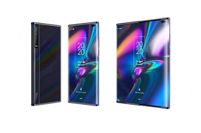 TCL presenta uno smartphone che è sia foldable che rollable