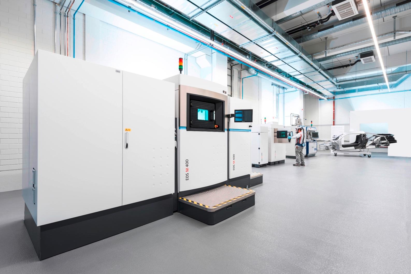 EOS e Audi ampliano la gamma di applicazioni per la stampa 3D del metallo