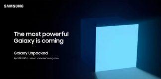 """Samsung Unpacked 2021, il 28 aprile arriverà il dispositivo Galaxy """"più potente"""""""