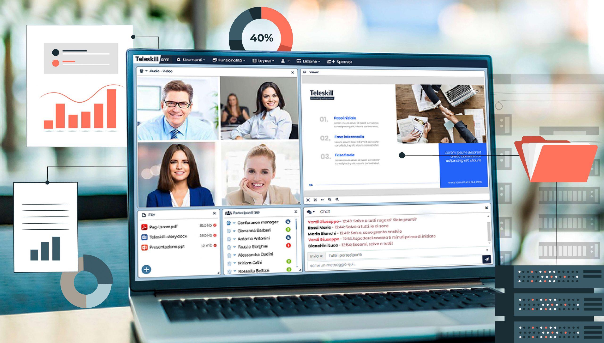 Teleskill live webinar conforme alla nuova normativa ANPAL per i fondi interprofessionali