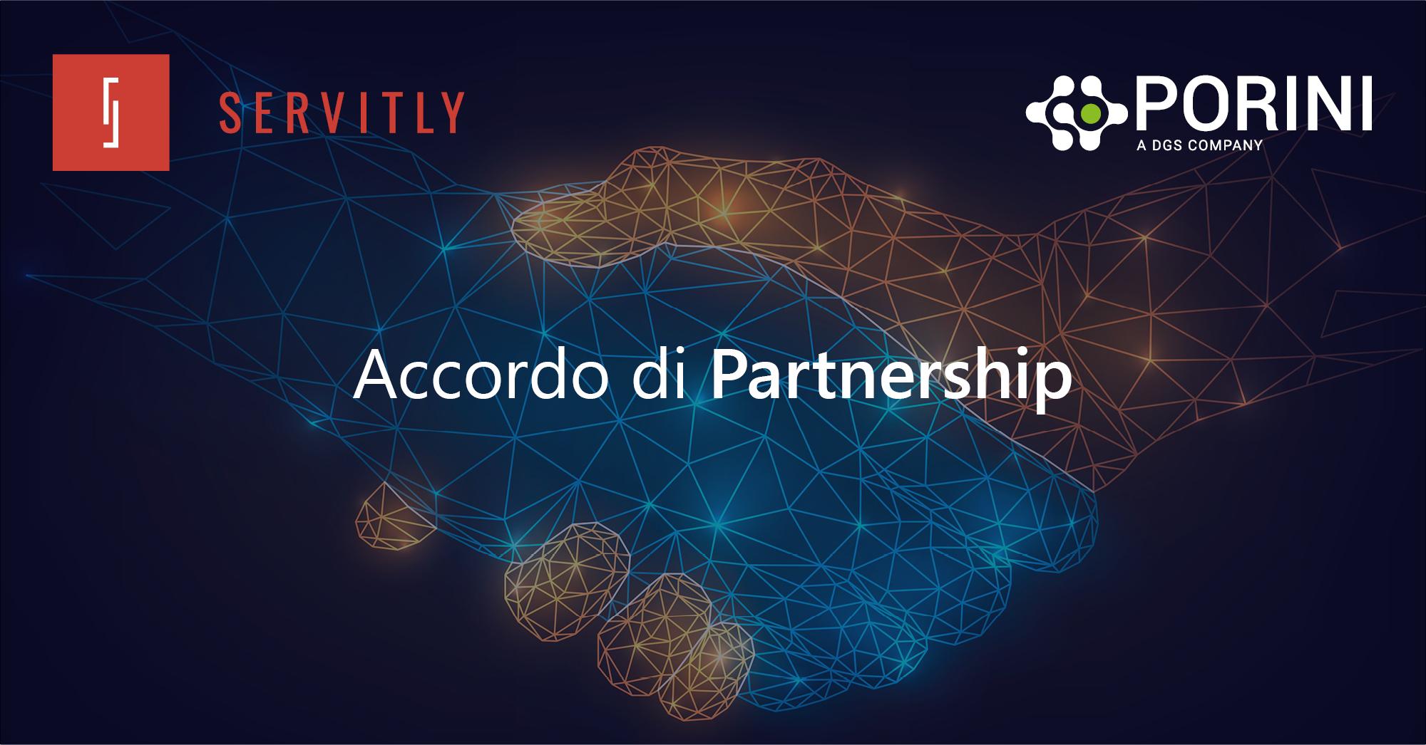 Accordo di Partnership tra Porini e Servitly