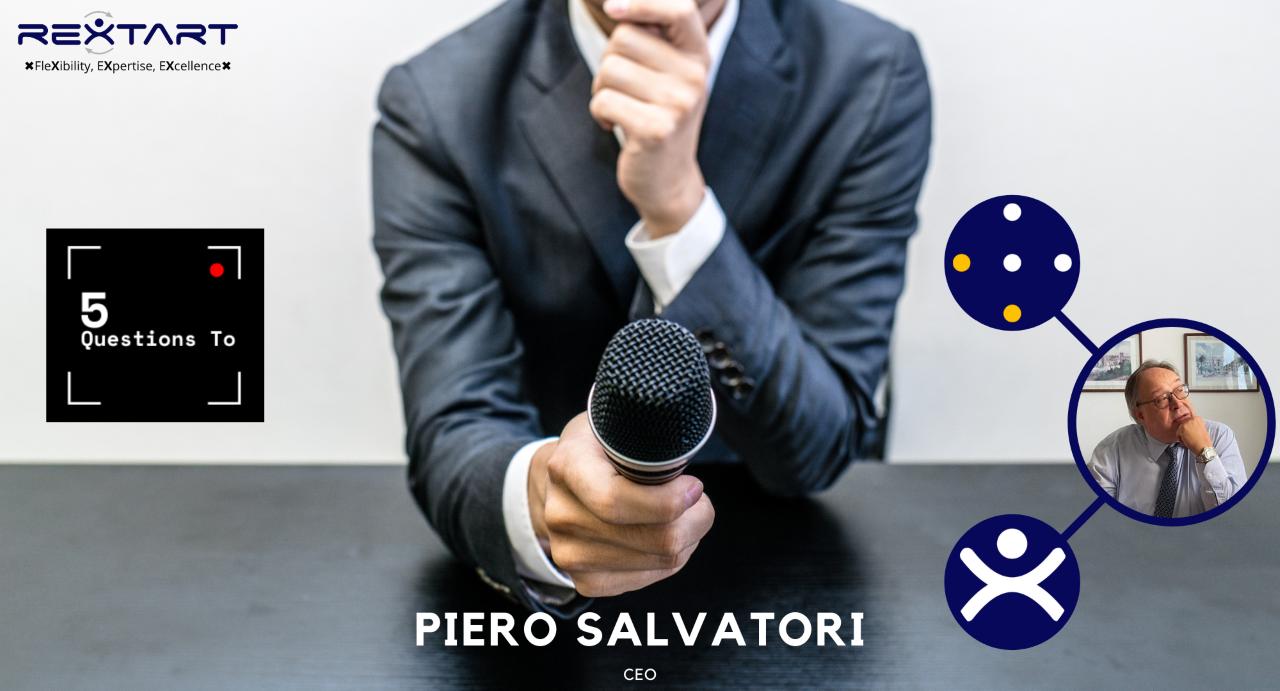 Five Questions To: Piero Salvatori CEO Rextart