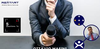 Five Questions To: Ottavio Masini VP Sales & Marketing Rextart