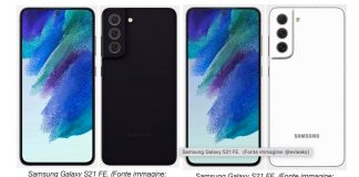 Samsung prepara il lancio del Galaxy S21 FE