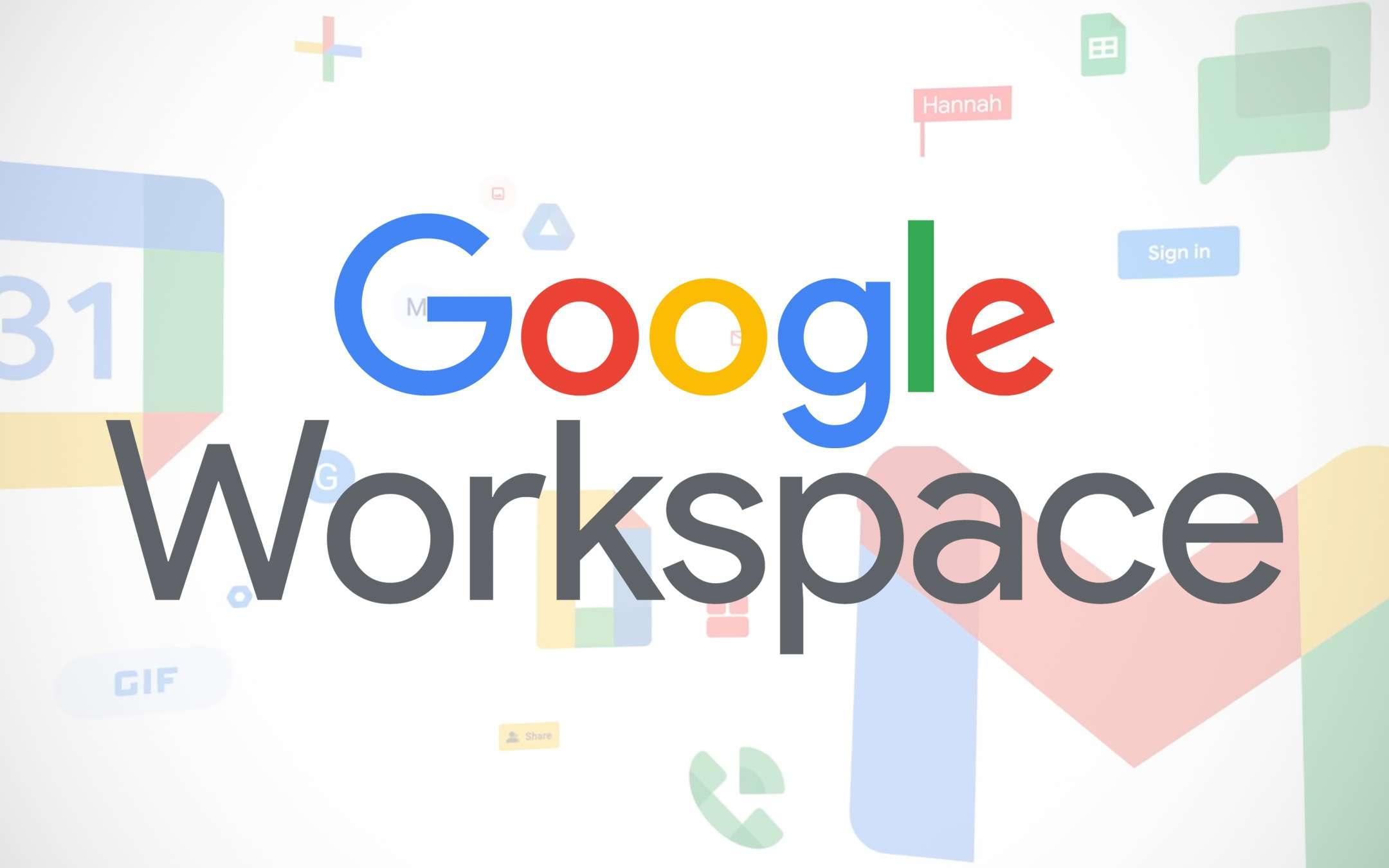 Google Workspace sarà disponibile per tutti gratis