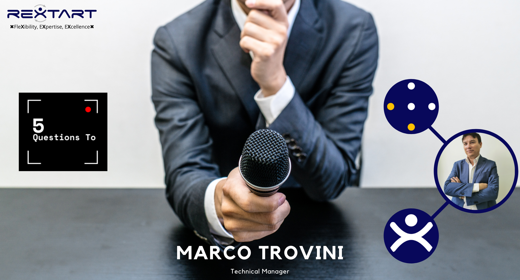 Five Questions To: Marco Trovini Technical Manager Rextart