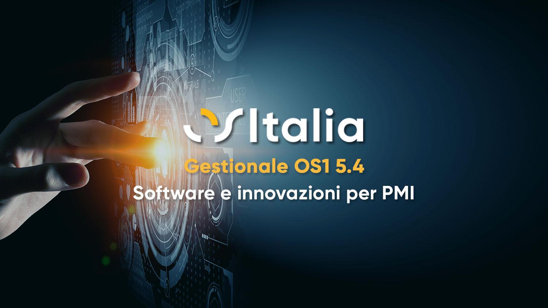 OSItalia lancia la release 5.4 del software OS1: innovazione ed efficienza a portata di click