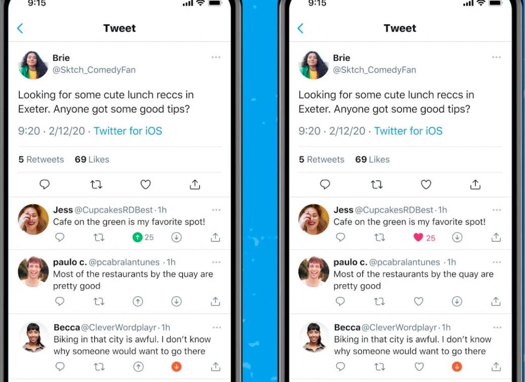 """Twitter inizia a testare il pulsante """"non mi piace"""" su iOS"""