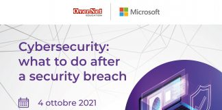 Microsoft e OverNet insieme per la cybersecurity: cosa fare dopo un security breach?