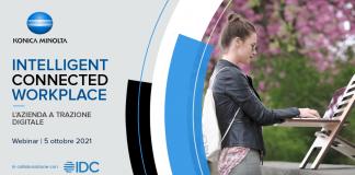 Konica Minolta in collaborazione con IDC racconta l'azienda a trazione digitale