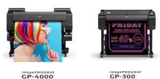 Canon presenta la nuova serie imagePROGRAF GP