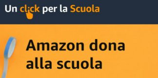 """Amazon.it annuncia la terza edizione di """"Un click per la Scuola"""""""