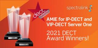 Le soluzioni wireless Spectralink premiate ai DECT Awards 2021