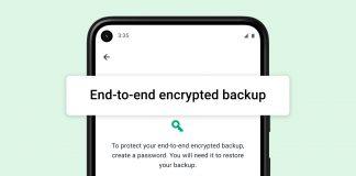 Facebook porta i backup crittografati end-to-end su WhatsApp