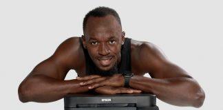 Epson e Usain Bolt in partnership per EcoTank