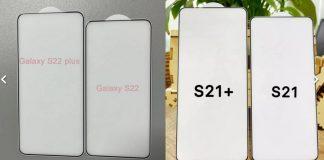 Samsung Galaxy S22, il nuovo design svelato in foto